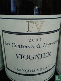 Francois Villard-Les Contours de Deponcins-viognier- 2007