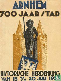 Officieele Gids. Herdenking van het 700-jarig stedelijk bestaan van Arnhem. Van zaterdag 15 tot en met zondag 30 juli 1933