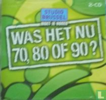 Was het nu 70, 80 of 90?