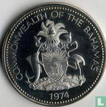 Bahama's 5 dollars 1974 (PROOF)