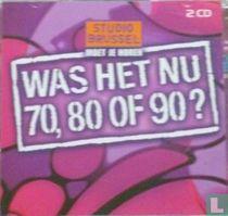 Was het nu 70, 80 of 90?