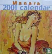 Manara 2001 calendar