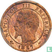 Frankrijk 1 centime 1857 (A)