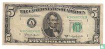 Verenigde Staten 5 Dollars 1950 A