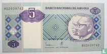 Angola 5 Kwanzas 1999