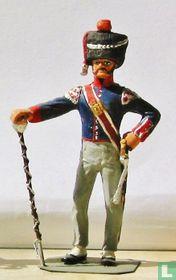 Tamboer Majoor Lichte Infanterie 1815