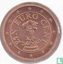 Austria 1 cent 2003
