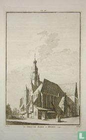 De Groote Kerk te Hoorn. 1726.
