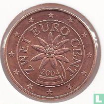 Austria 2 cent 2004