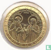 """Austria 50 euro 2002 (PROOF) """"Orden und die Welt"""""""