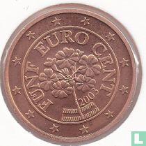 Austria 5 cent 2003