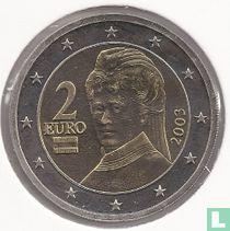 Austria 2 euro 2003