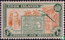 Karte von Hervey-Inseln