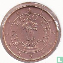Austria 1 cent 2004