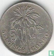 Belgisch-Kongo 50 centimes 1922 (nederlandstalig)