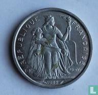 Frans-Polynesië 2 francs 1982