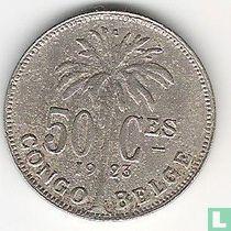Belgisch-Kongo 50 centimes 1923 (franstalig)