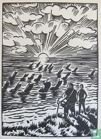 Frans Masereel - Originele houstnede, 1921