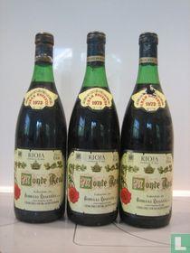 Bodegas Riojana Monte Real Gran Reserva 1973, 3 flessen