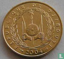 Djibouti 10 francs 2004