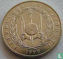 Djibouti 50 francs 1999