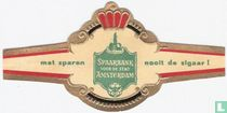 Spaarbank voor de stad Amsterdam - met sparen - nooit de sigaar !