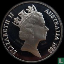 "Australia 10 dollars 1988 (PROOF) ""200th anniversary of the arrival of the First Fleet"""
