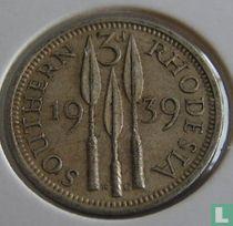 Zuid-Rhodesië 3 pence 1939