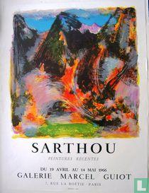 'Sarthou'  Peintures récentes