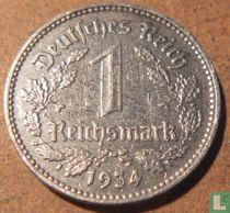 Duitse Rijk 1 reichsmark 1934 (J)