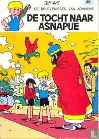 De tocht naar Asnapije