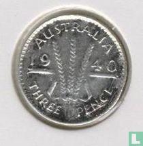Australië 3 pence 1940