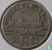 Brasilien 200 Réis 1937