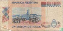 Argentinië 1.000.000 Pesos 1981