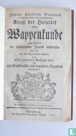 Abriss der Heraldik oder Wappenkunde