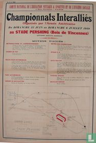 'Championnats Interalliés'   (Paris 1919)