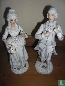 Rococo beelden