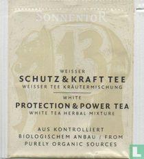 13 Weisser Schutz & Kraft Tee