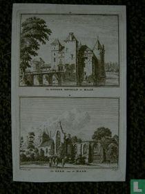 De Haar 1744 Kasteel en Kerk.