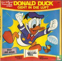 Donald Duck geht in die Luft