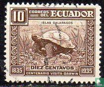 Eeuwfeest van Darwin's bezoek aan de Galapagos eilanden.
