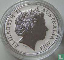 "Australië 1 dollar 2013 (PROOF) ""Kangaroo"""