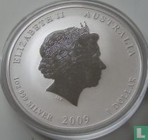 """Australië 1 dollar 2009 (PROOF) """"Year of the Ox"""""""