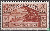 Vergilius, met opdruk