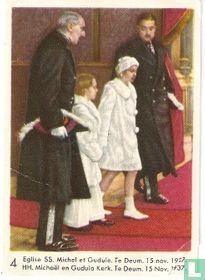 HH Michaël en Gudula Kerk. Te Deum. 15 Nov. 1937
