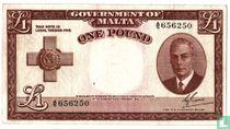Malta 1 pound 1951