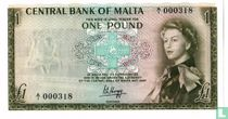 Malta 1 pound 1967