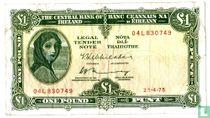 Ierland 1 Pound 1975