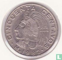 Mexico 50 centavos 1982