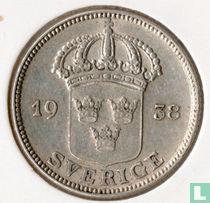Schweden 50 Öre 1938